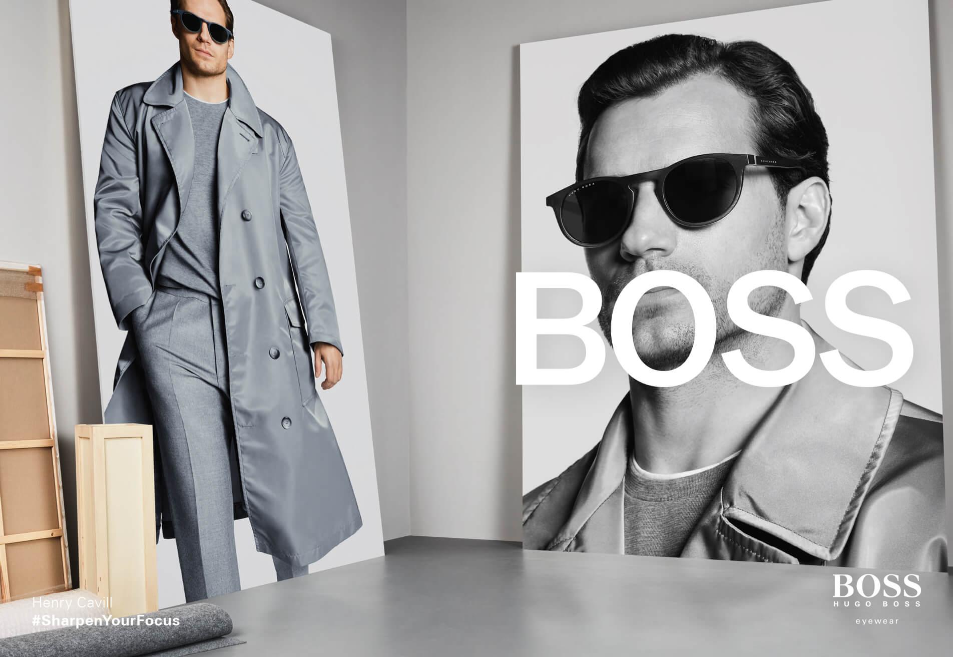 two pairs of hugo boss sunglasses